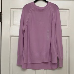 NWT Lilac Sweater